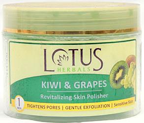 Lotus Herbals Kiwi & Grapes Revitalizing Skin Polisher