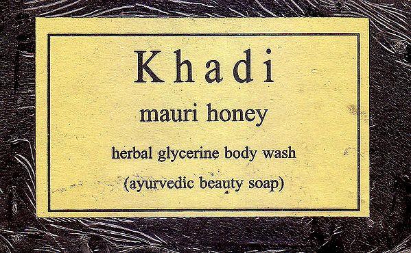 Khadi Mauri Honey Soap
