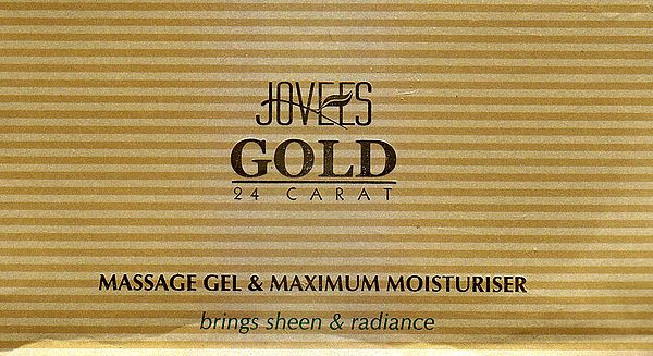 Gold 24 Carat Massage Gel & Maximum Moisturiser