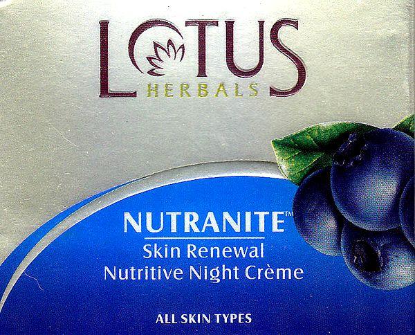 Nutranite Skin Renewel Nutritive Night Crème