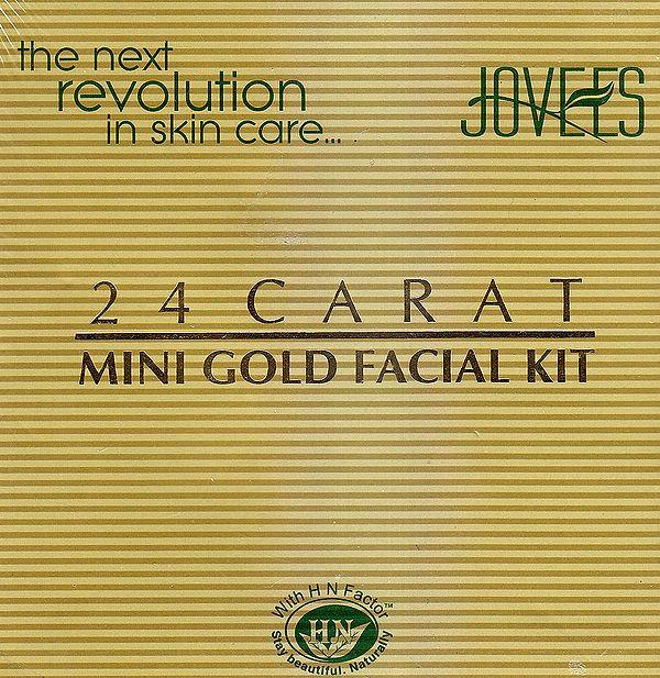 24 Carat Mini Gold Facial Kit