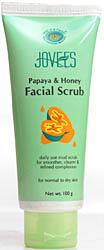 Papaya & Honey Facial Scrub