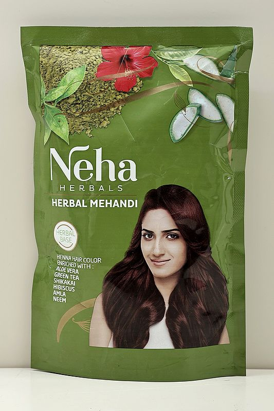 Neha Herbal Mehandi: Natural Coloring With Nature's Goodness