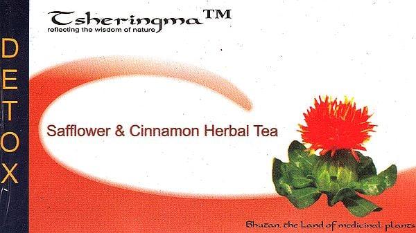 Safflower & Cinnamon Herbal Tea