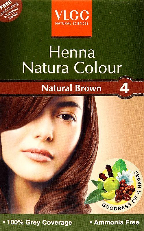 VLCC Henna Natura Colour-Natural Brown