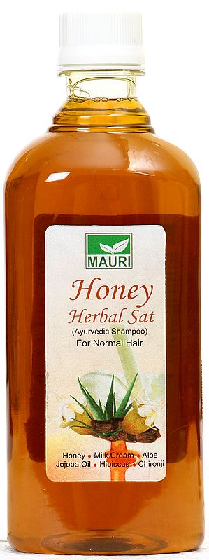 Mauri Honey Herbal Sat (Ayurvedic Shampoo) For Normal Hair