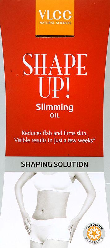 VLCC Natural Sciences Shape Up! Slimming Oil