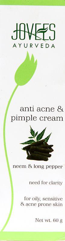 Jovees Ayurveda Anti Acne & Pimple Cream