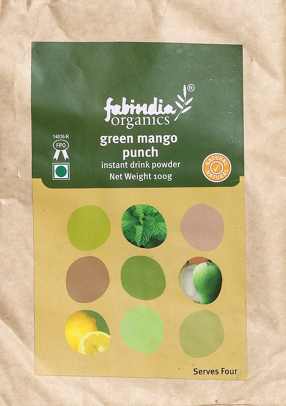 Fabindia Organic Green Mango Punch Instant Drink Powder