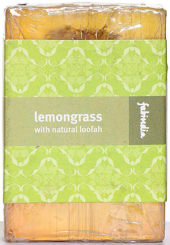 Fabindia Organic Lemongrass With Natural Loofah (Bathing Bar)