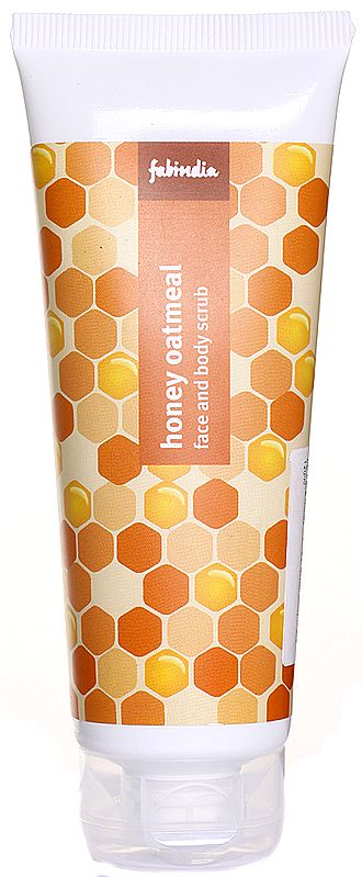 Fabindia Honey Oatmeal Face and Body Scrub