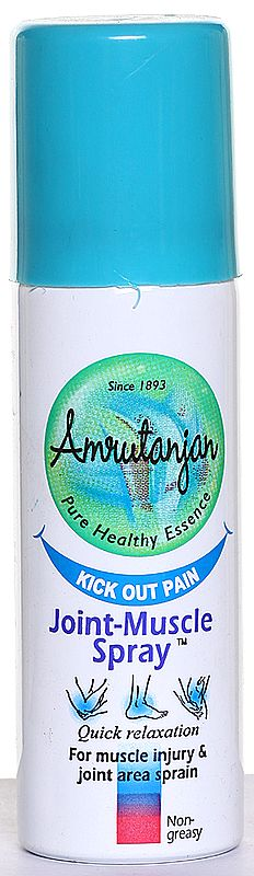 Amrutanjan Pure Health Essence Kick Out Pain Join Muscle Spray