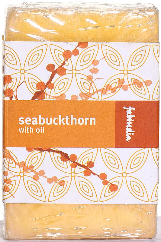 Fabindia Seabuckthorn With Oil  (Bathing Bar)
