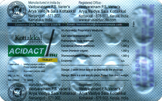Acidact Tablet