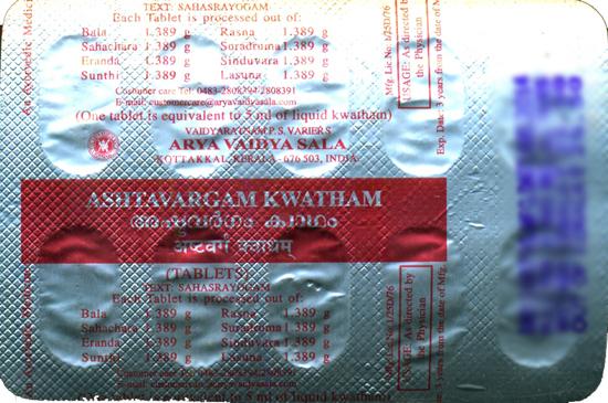 Ashtavargam Kwatham
