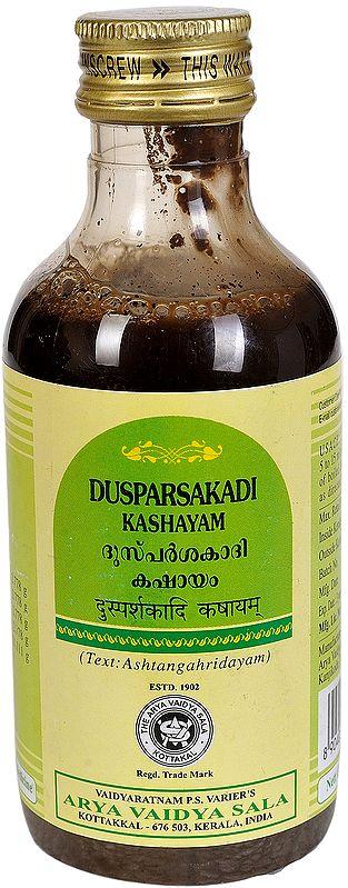 Dusparsakadi Kashayam
