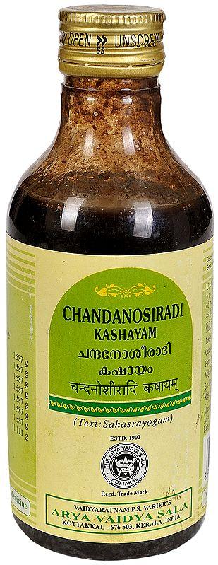 Chandanosiradi Kashayam