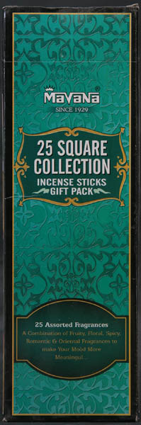 25 Square Collection Incense Sticks Gift Pack (Incense)