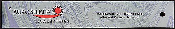 Auroshikha Agarbathies Radha's Devotion Incense (Oriental Bouguet Incense)