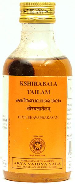Kshirabala Tailam (Text: Bhavaprakasam)