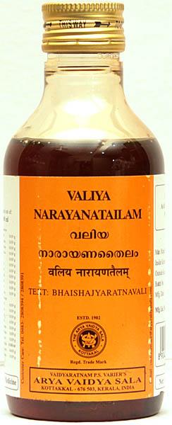 Valiya Narayanatailam (Text: Bhaishajyaratnavali)