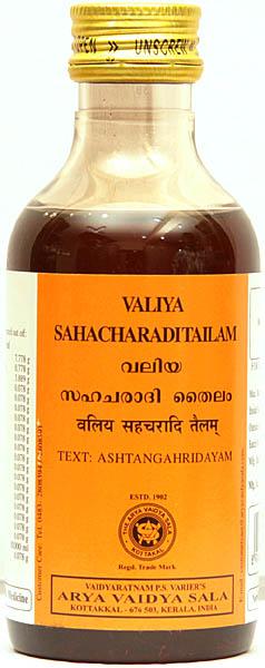 Valiya Sahacharaditailam (Text: Ashtangahridayam)