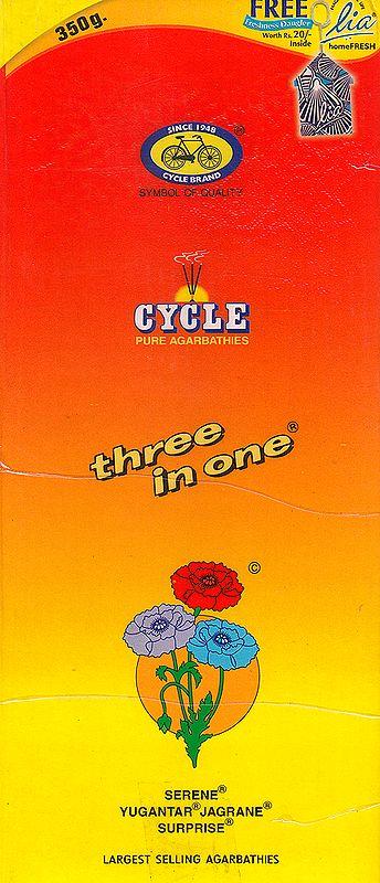 Three In One : Pure Agarbathi (Incense Sticks)