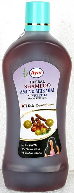 Ayur Herbal Shampoo (Amla & Shikakai with Reetha) For Normal Hair