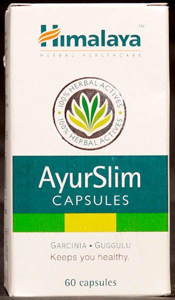 Ayur Slim Capsules (Garcinia & Guggulu) Keeps You Healthy