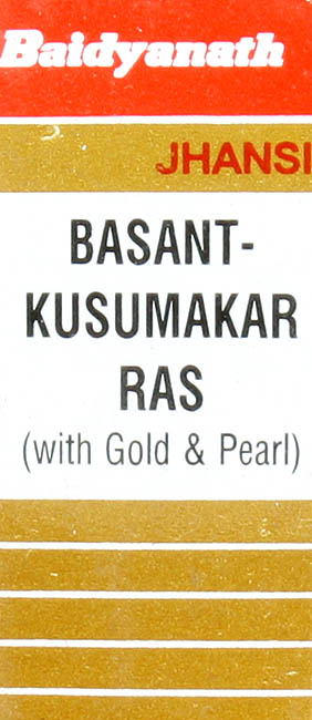 Basant Kusumakar Ras with Gold & Pearl