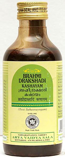Brahmidrakshadi Kashayam