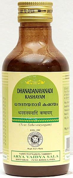 Dhanadanayanadi Kashayam