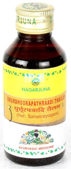 Dhurdhoorapathraadi Thailam (Ref: Sahasrayogam)