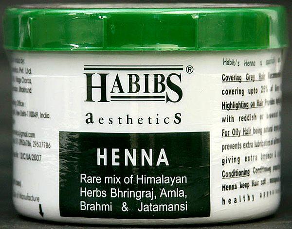 Henna - Rare Mix of Himalayan Herbs Bhringraj, Amla, Brahmi & Jatamansi