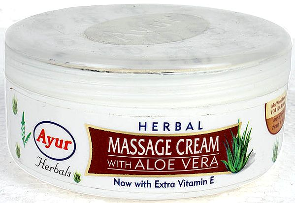 Herbal Massage Cream with Aloe Vera