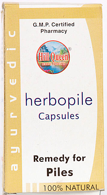 Herbopile Capsules (Remedy For Piles)