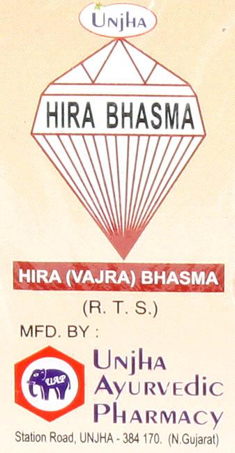 Hira Bhasma - Hira (Vajra) Bhasma