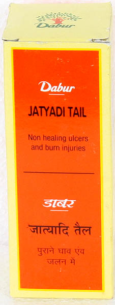 Jatyadi Tail (Oil for Non Healing Ulcers and Burn Injuries)