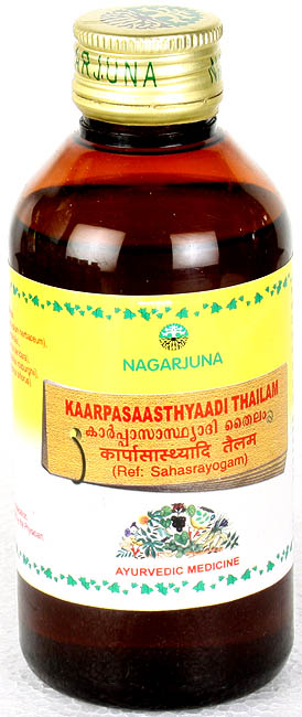 Kaarpasaasthyaadi Thailam (Ref: Sahasrayogam)