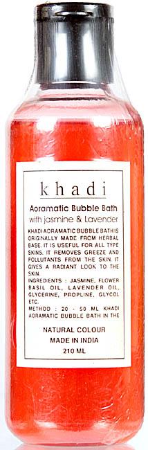 Khadi Aoramatic Bubble Bath with Jasmine & Lavender