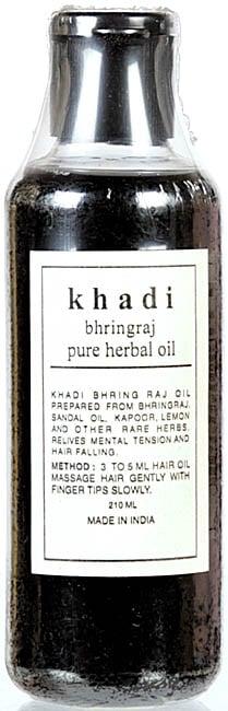 Khadi Bhringraj Pure Herbal Oil