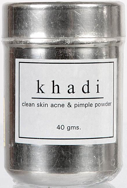 Khadi Clean Skin Acne & Pimple Powder