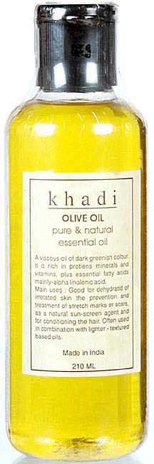 Khadi Olive Oil Pure & Natural Essential Oil