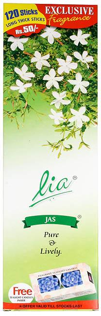 Lia Jas (Pure & Lively): Incense Sticks (240 Sticks)