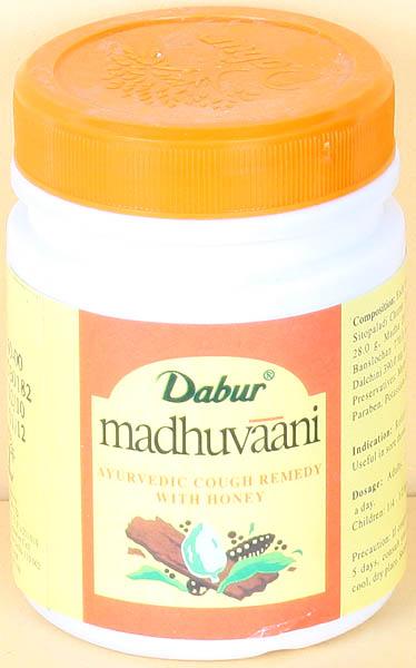 Madhuvaani - Ayurvedic Cough Remedy with Honey