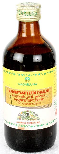 Madhuyashtyadi Thailam (Ref. Ashtamgahrudayam)
