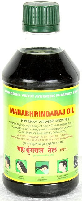 Mahabhringaraj Oil (Pure Maka's Ayurvedic Medicine)