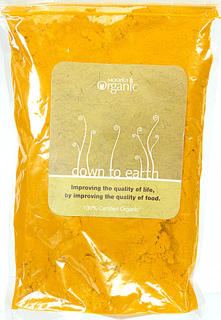 Morarka Organic Down To Earth Turmeric Powder (Improving the Quality of Life, By Improving the Quality of Food.)