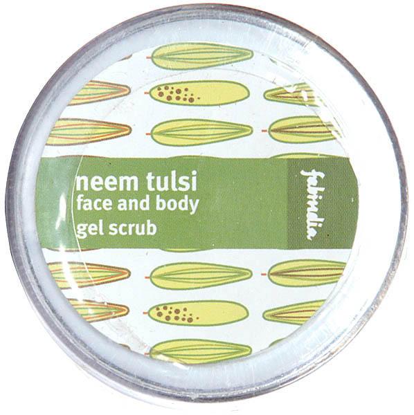 Neem Tulsi Face and Body Gel Scrub