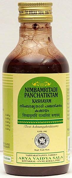 Nimbamritadi Panchatiktam Kashayam